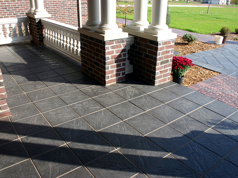 Brick Porch and Walkway