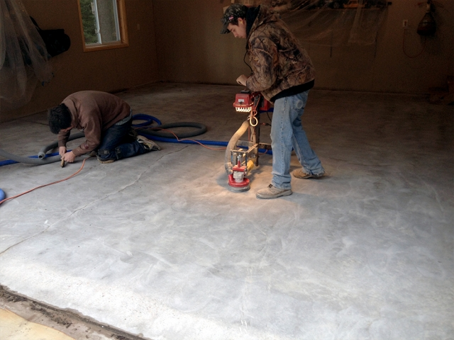 Resurfacing Concrete Garage Floor