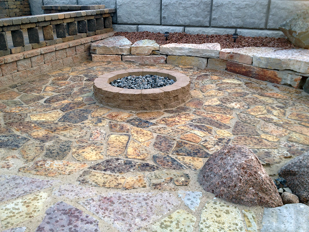 Fire Ring and Brick Pavers