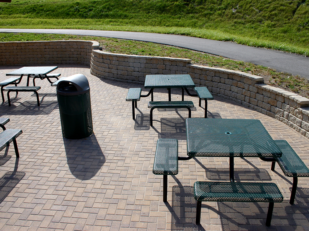 Patio and Retaining Wall at Granite Peak